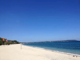 Beautiful virgin beach in batangas philippines
