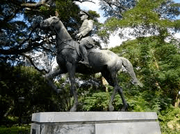 Don enrique zobel statue in calatagan batangas philippines