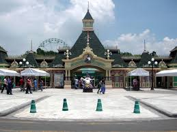 entrance of enchanted kingdom amusement park in laguna philippines