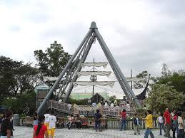 anchor's aways pirate ship attraction in enchanted kingdom laguna philippines