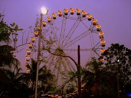 wheel of fate ferris wheel attraction in enchanted kingdom laguna philippines