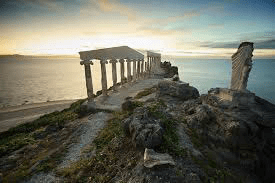 fortune island acropolis structure in nasugbu batangas philippines