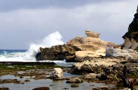 shape of kapurpurawan rock formation in burgos ilocos norte