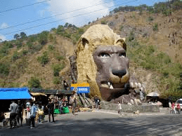 lion's head at kennon road near baguio city philippines