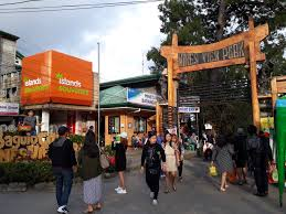 entrance of Mines View Park in baguio city philippines