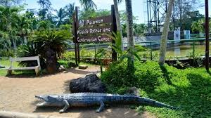 entrance sign of Palawan Wildlife Rescue and Conservation Centre