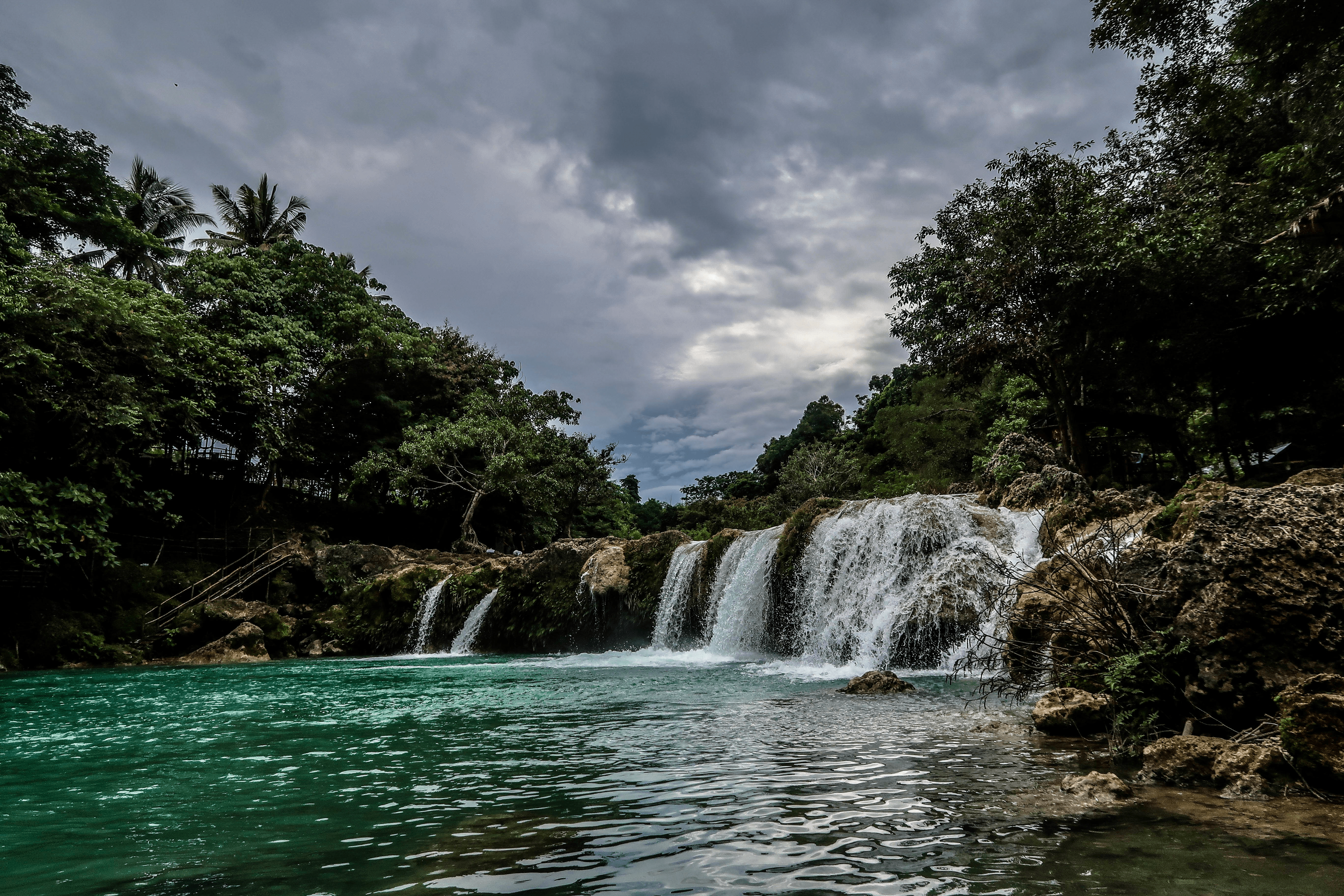 beautiful photo of the bolinao falls number two in pangasinan province philippines