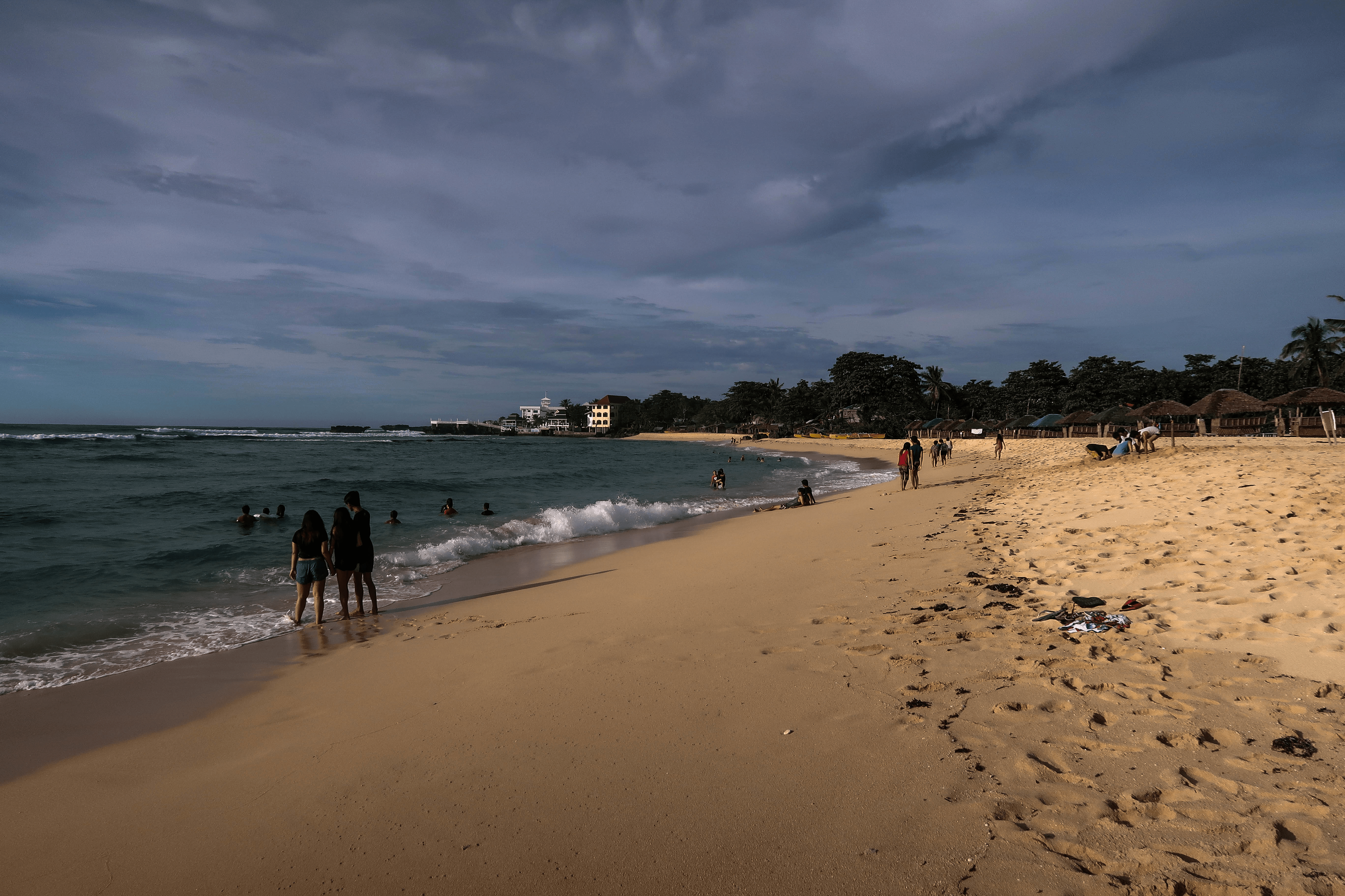 patar white sand beach in bolinao pangasinan philippines