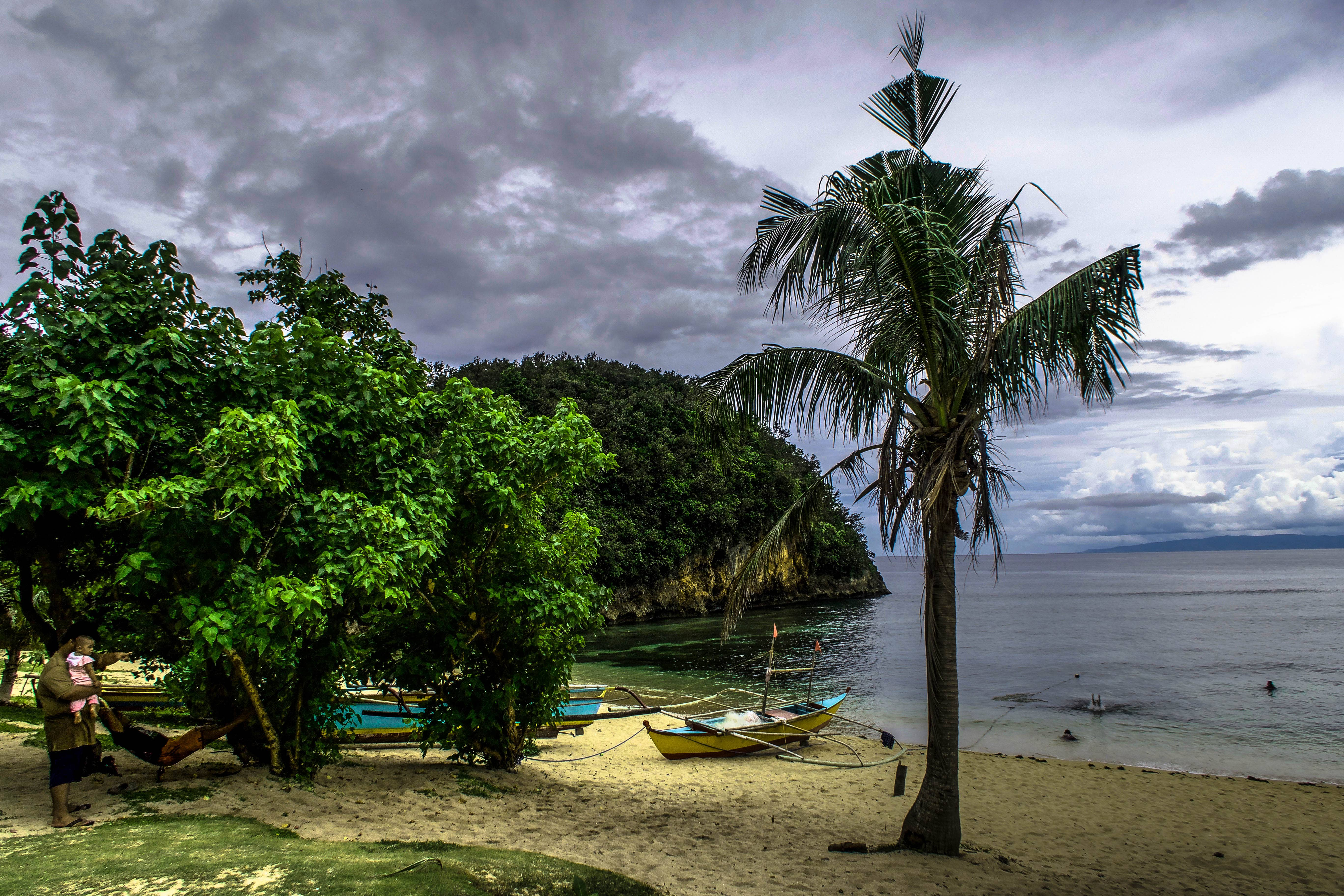 cottage at talisoy beach or jesus face beach in virac catanduanes philippines