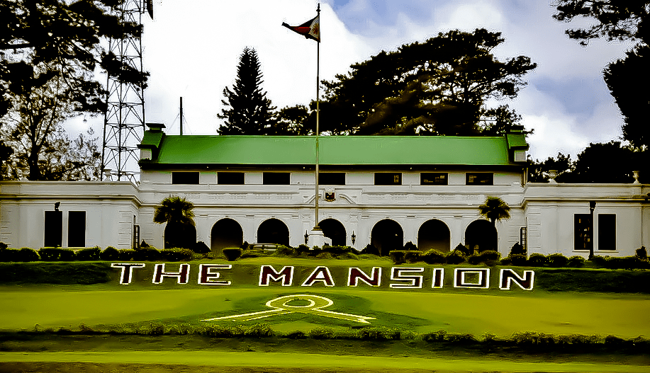 the mansion presedential summer palace in baguio city philippines