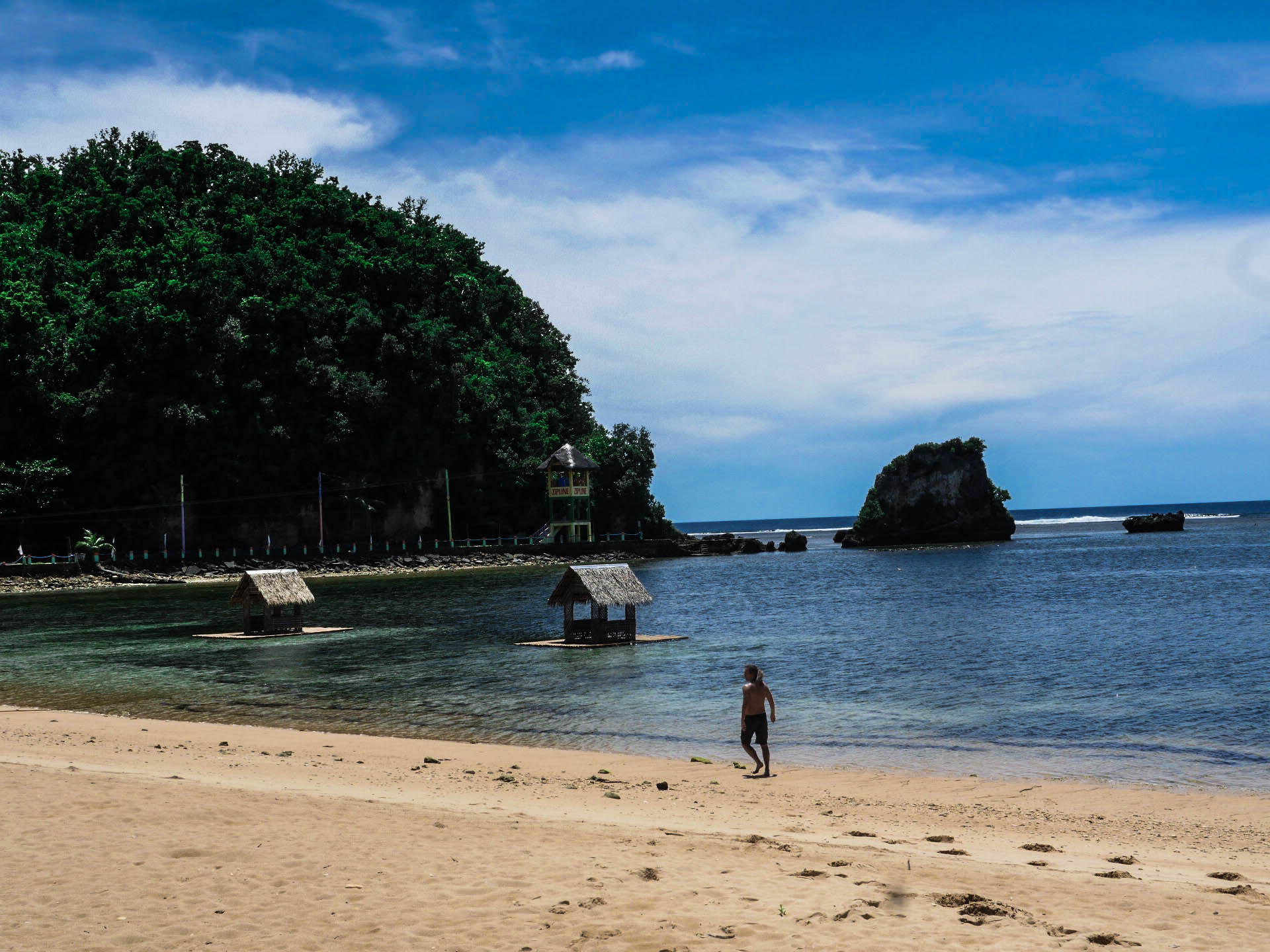 lennythroughparadise at twin rock beach in catanduanes philippines