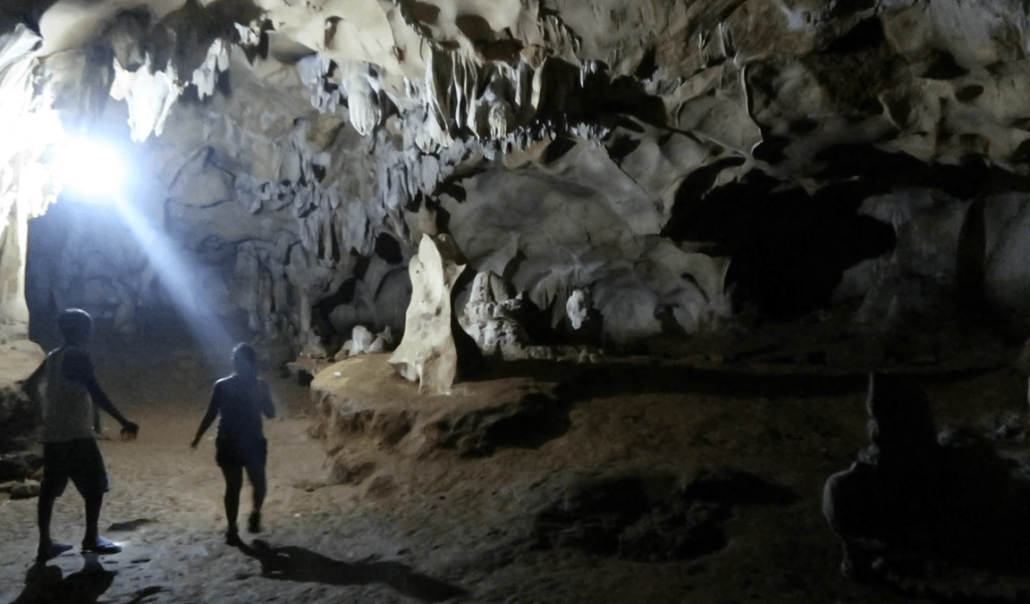 inside the mystical cave antipolo